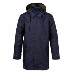 Knowledge Cotton Apparel - Double Layer Parca Coat