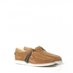 loreak mendian - SHOES SOLER GREASED SPLIT LEATHER