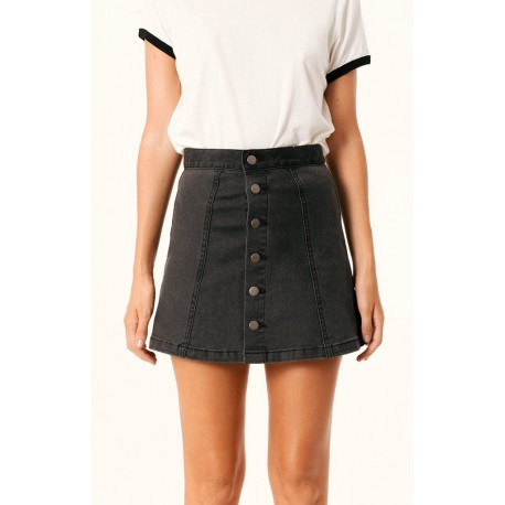 Afends - Jawbreaker - Denim Skirt