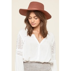 Amuse Society - Bordeaux Hat