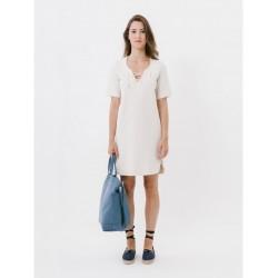 Loreak Mendian - W' DRESSES S/S TXANGAI ESPIGA LUREX