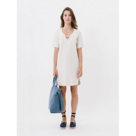 Loreak Mendian W Dresses S Txangai Espiga Lurex