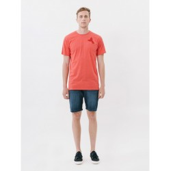 loreak mendian - S/S REGULAR PRINTED PKT TS IN THE POCKET FINE COTTON