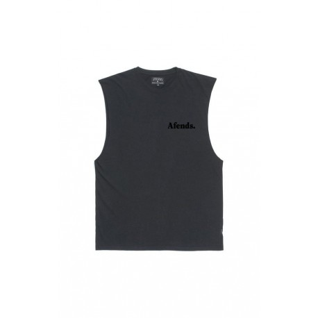Afends - Nylon II Cut Logo Band Cut Tee