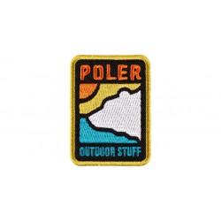 Poler - GEO BEAR IRON-ON PATCH