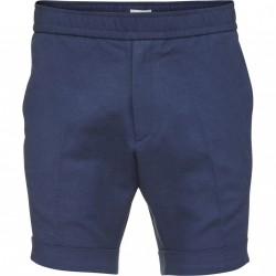 Knowledge Cotton Apparel - Loose Twill Shorts W/ Turn Up