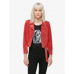 Obey - St. Marks Suede Moto