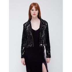 Obey - Bigby sequin moto