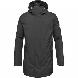 Knowledge Cotton Apparel - Long Soft Shell Quilted Jacket - GRS