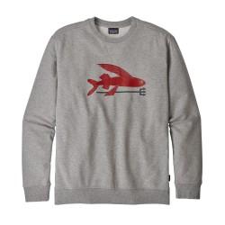 Patagonia - M's Flying Fish Midweight Crew Sweatshirt