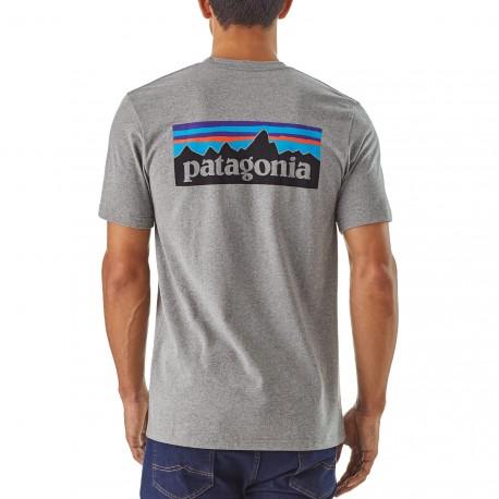 Patagonia - M's P-6 Logo Responsibili-Tee
