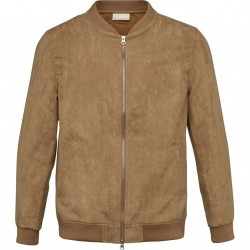 Knowledge Cotton Apparel - Suede Jacket - GRS