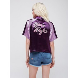 Obey - Rae satin tour shirt