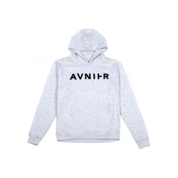AVNIER - Basic Heather Grey Hoodie
