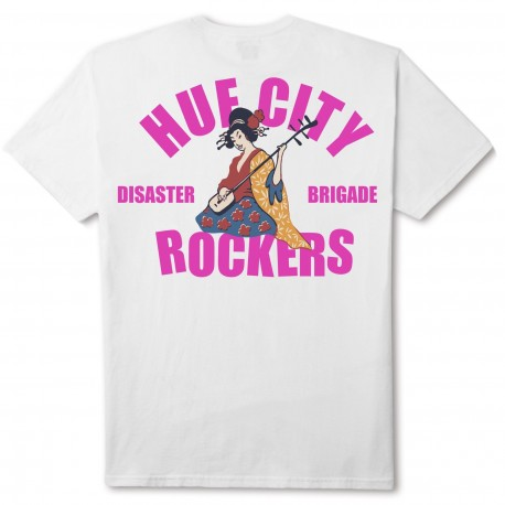 HUF - T-SHIRT HUF CITY ROCKERS SS