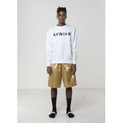 AVNIER - Basic white crewneck