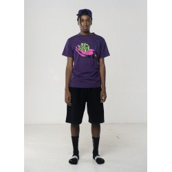 AVNIER - Wave hand purple tee