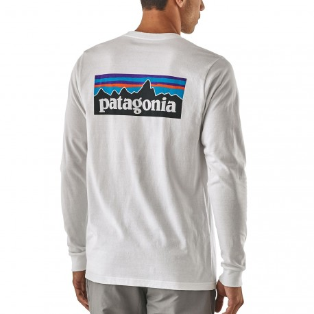 Patagonia - M's L/S P-6 Logo Responsibili-Tee