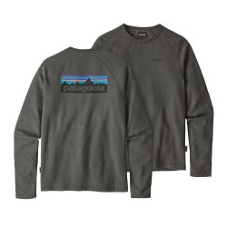 Patagonia - M's P-6 Logo LW Crew Sweatshirt