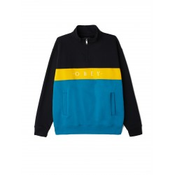 Obey - Chelsea Mock Neck Zip
