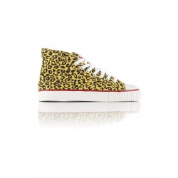 Obey - Leopard Energy Yellow