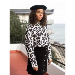 Pukas - Women Woven Leopard