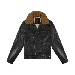Deus - Nail Leather Jacket