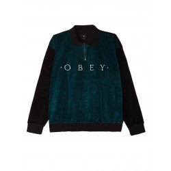Obey - Avenue Zip Polo L/S