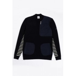 AVNIER x SAINT JAMES - Aubbec Sweat Navy