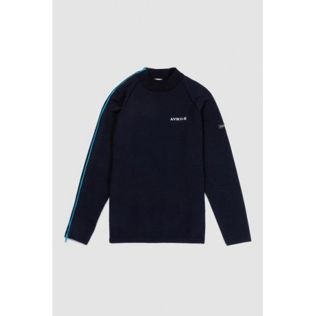 AVNIER x SAINT JAMES - Allenvey Sweat Navy