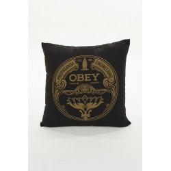 OBEY - LOTUS BADGE PILLOW