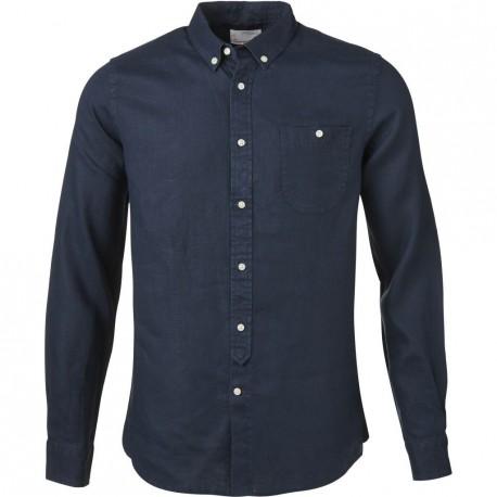 Knowledge Cotton Apparel - Linen Shirt