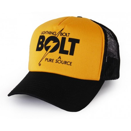 Lightning Bolt - A PURE SOURCE TRUCKER CAP