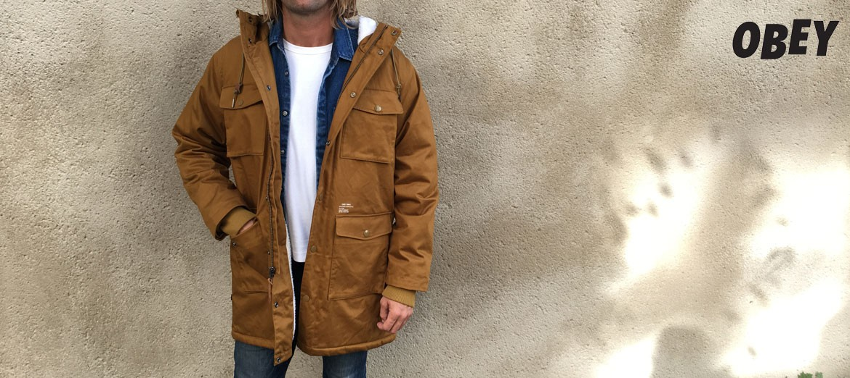 Obey - Heller II jacket